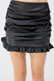 Mable Ruffle Mini Skirt - Product Mini Image