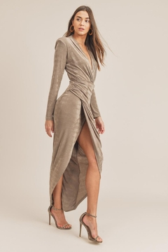 Mable Side-Hip Shirred Dress - Product List Image