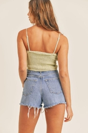 Mable Smocked Back Crop Top - Other
