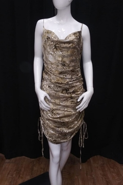 Mable Snake Print Dress - Product List Image