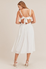 Mable Tie Back Midi - Front full body