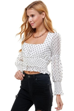 Shoptiques Product: White Daisy Top
