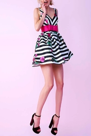 Mac Duggal Pink Bow Dress - Product Mini Image