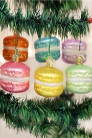 Old World Christmas Macaron Cookie Ornament - Product Mini Image