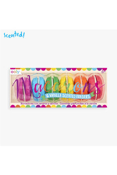 Ooly Macarons Vanilla Scented Erasures - Product List Image