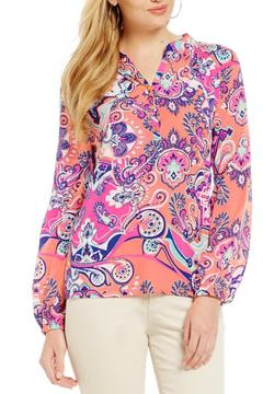 Macbeth Collection Printed Blouse - Product List Image