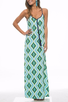 Macbeth Collection Tribal Print Maxi - Alternate List Image