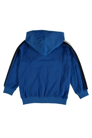 Molo Maccan Blue Hoodie - Side cropped