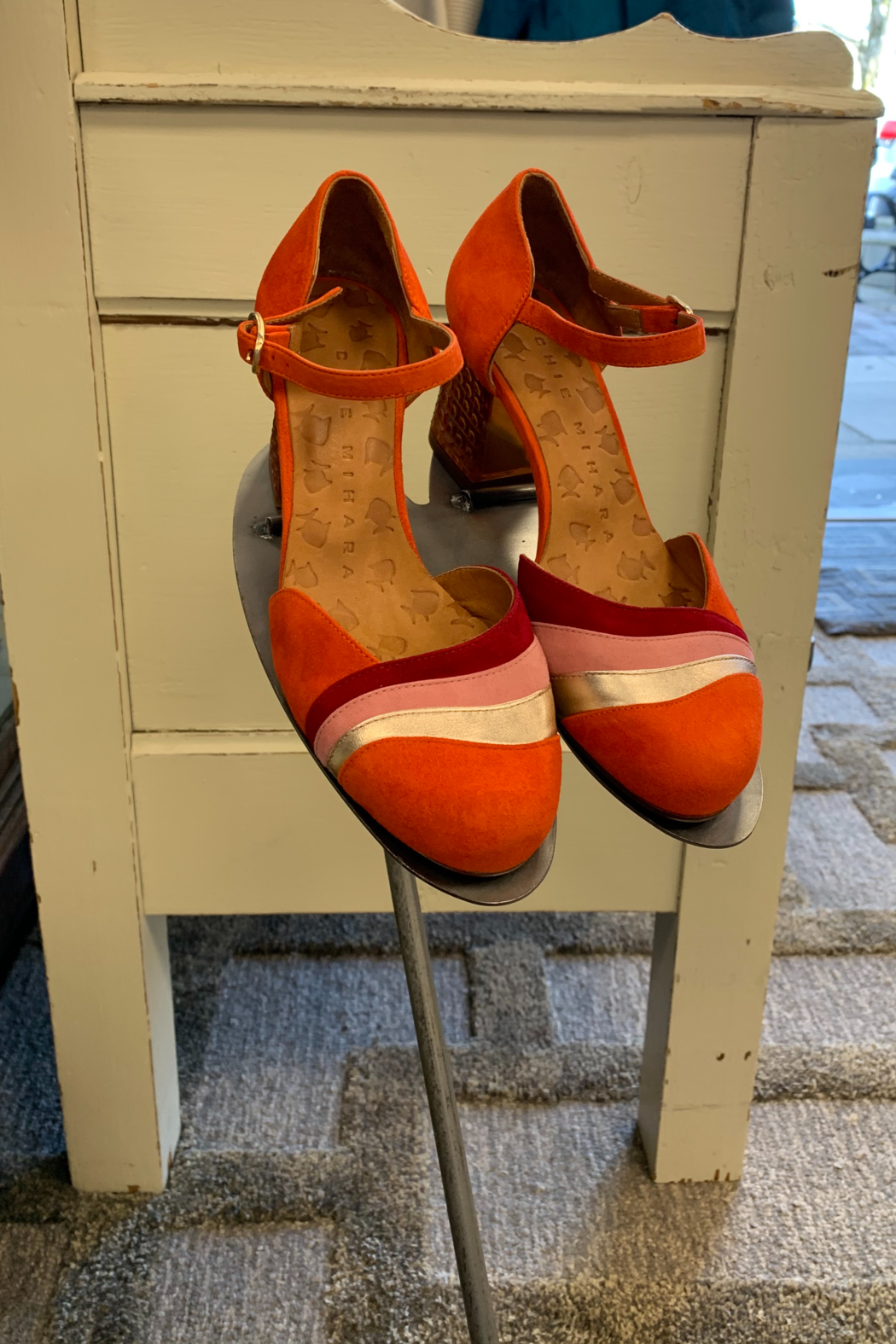 Chie Mihara Mace slingback with lucite heel - Main Image
