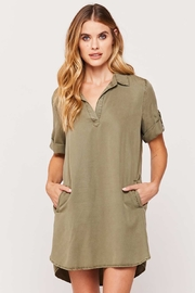Velvet Heart Macey Shirt Dress - Product Mini Image