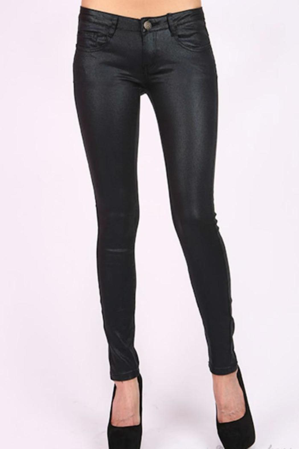 Machine Jeans Black Skinny Jeans from New Jersey by Fly Girl