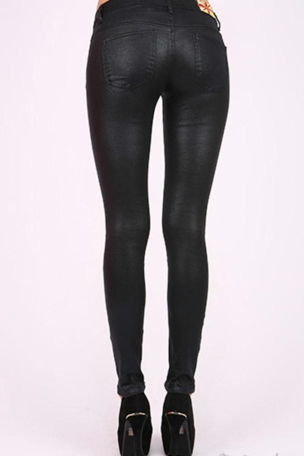 Machine Jeans Black Skinny Jeans from New Jersey by Fly Girl ...