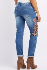 Machine Jeans Embroidered Skinny Jeans - Front cropped