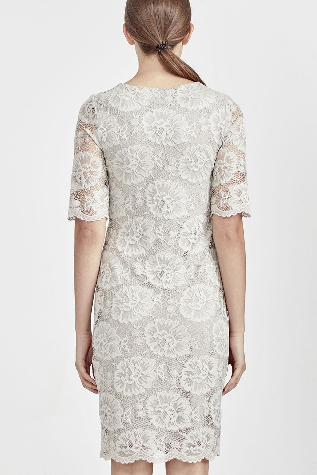 MACJAYS Stretch Lace Dress - Front Full Image