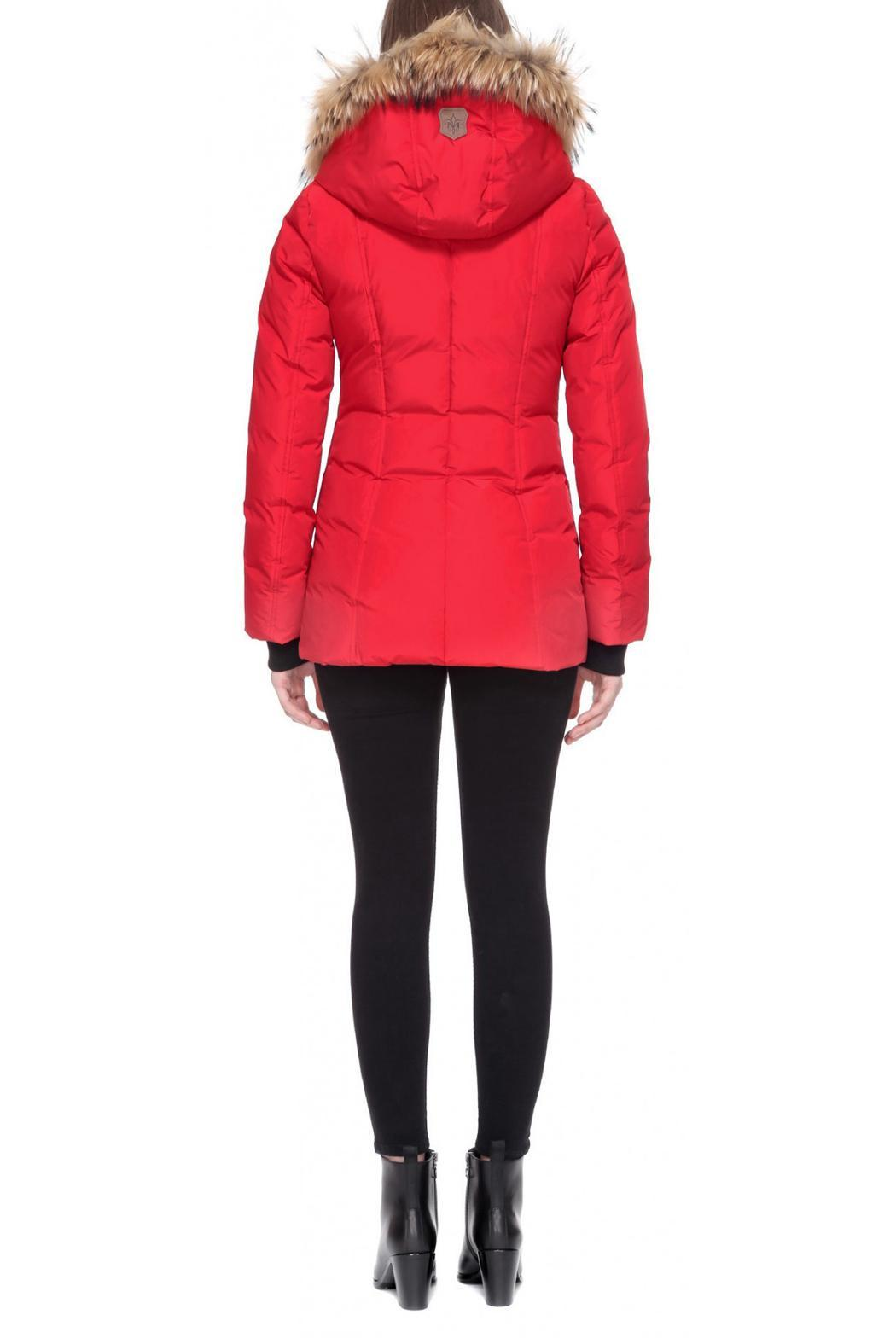 Mackage Adali Red Coat - Back Cropped Image