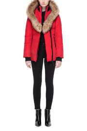 Mackage Adali Red Coat - Front full body