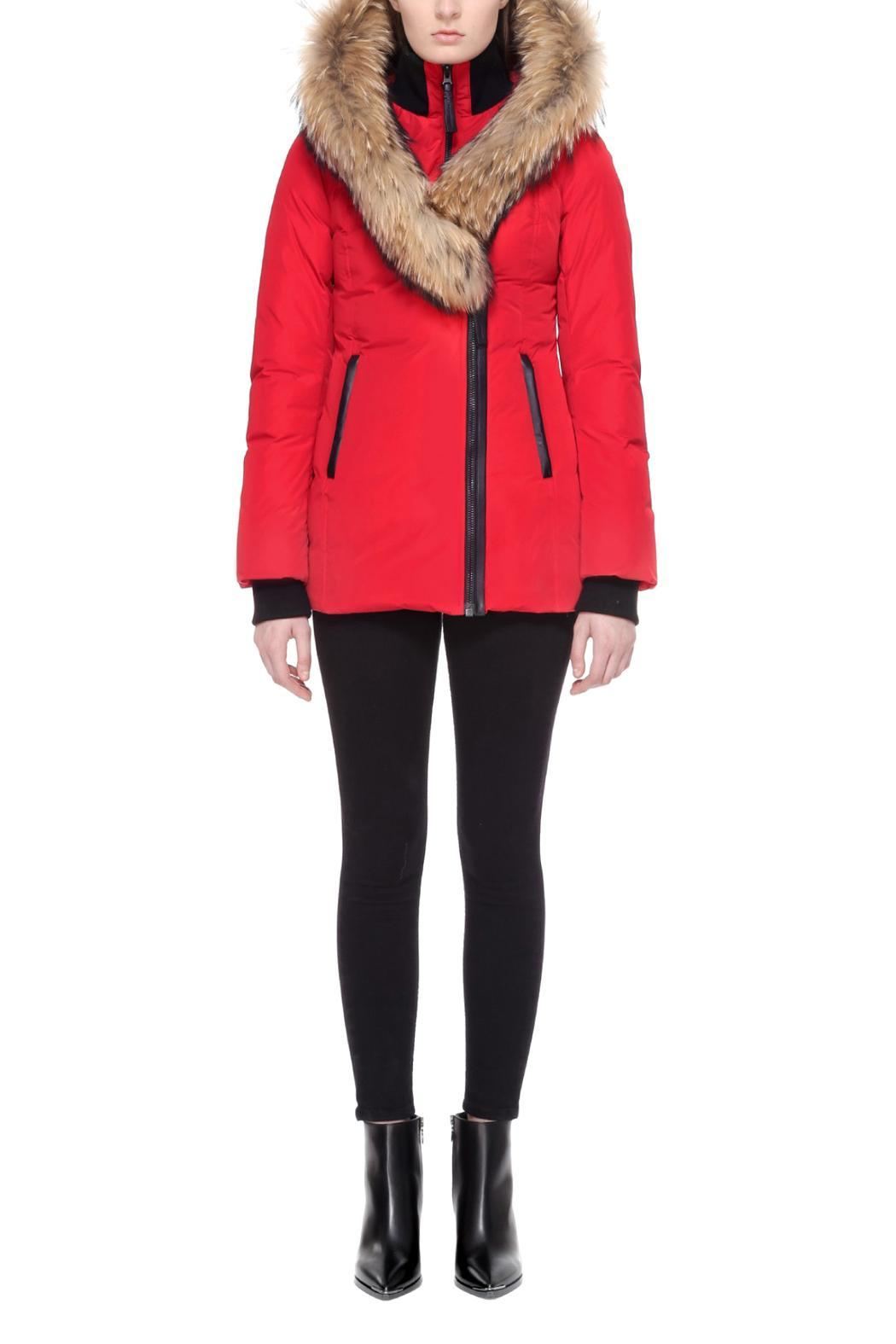 Mackage Adali Red Coat - Main Image