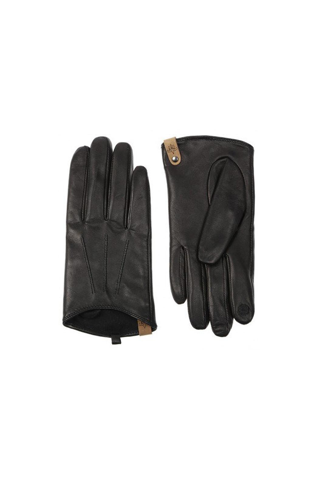 Mackage Alisee Leather Gloves - Front Full Image