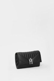 Mackage Anata-Q Leather Crossbody Wallet - Front full body