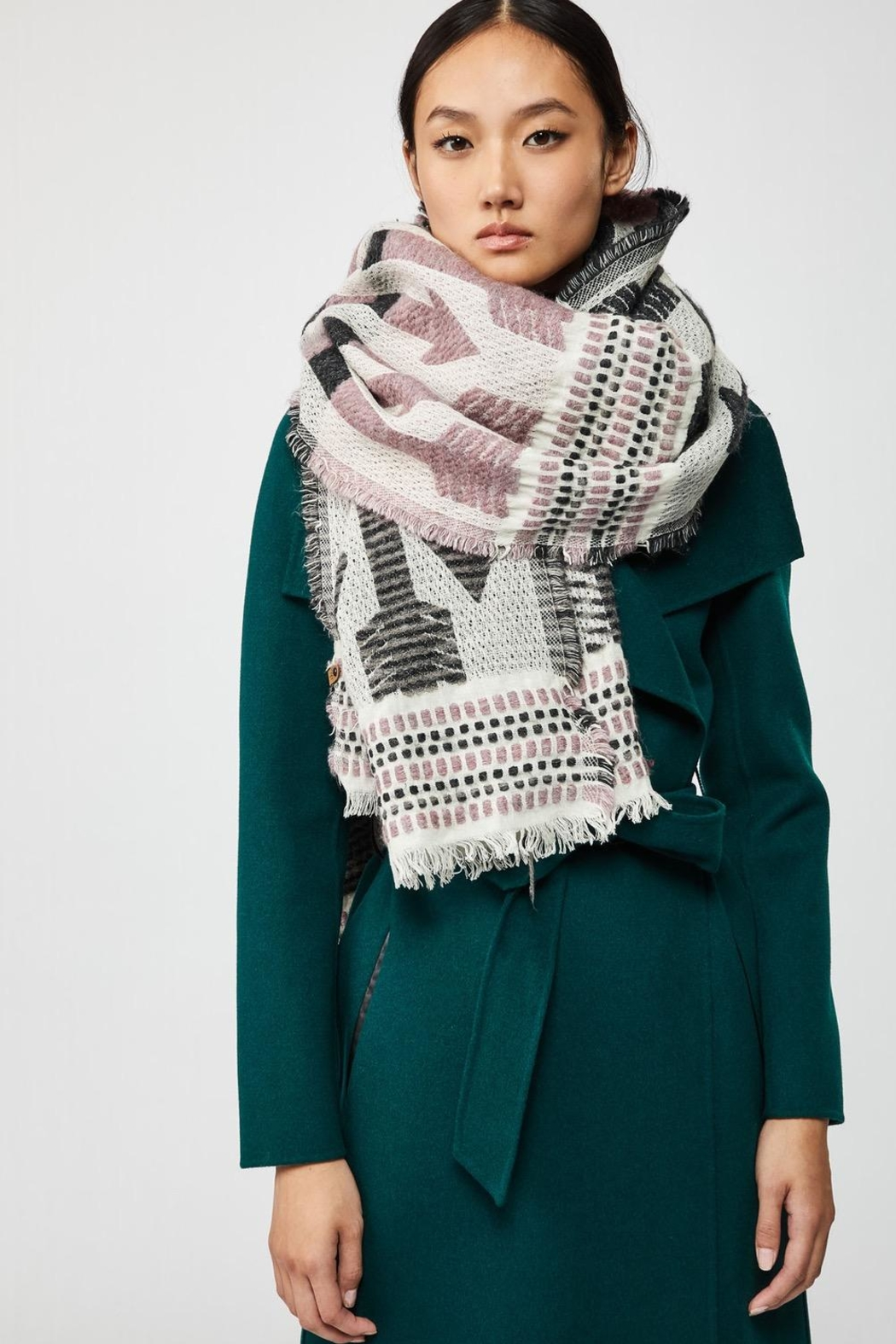Mackage Aro Woven Scarf - Front Full Image