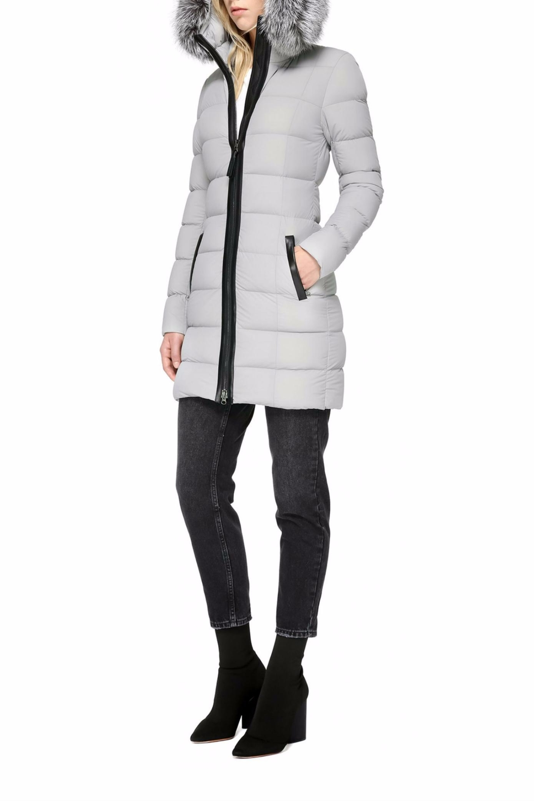 Mackage Calla Down Coat - Back Cropped Image