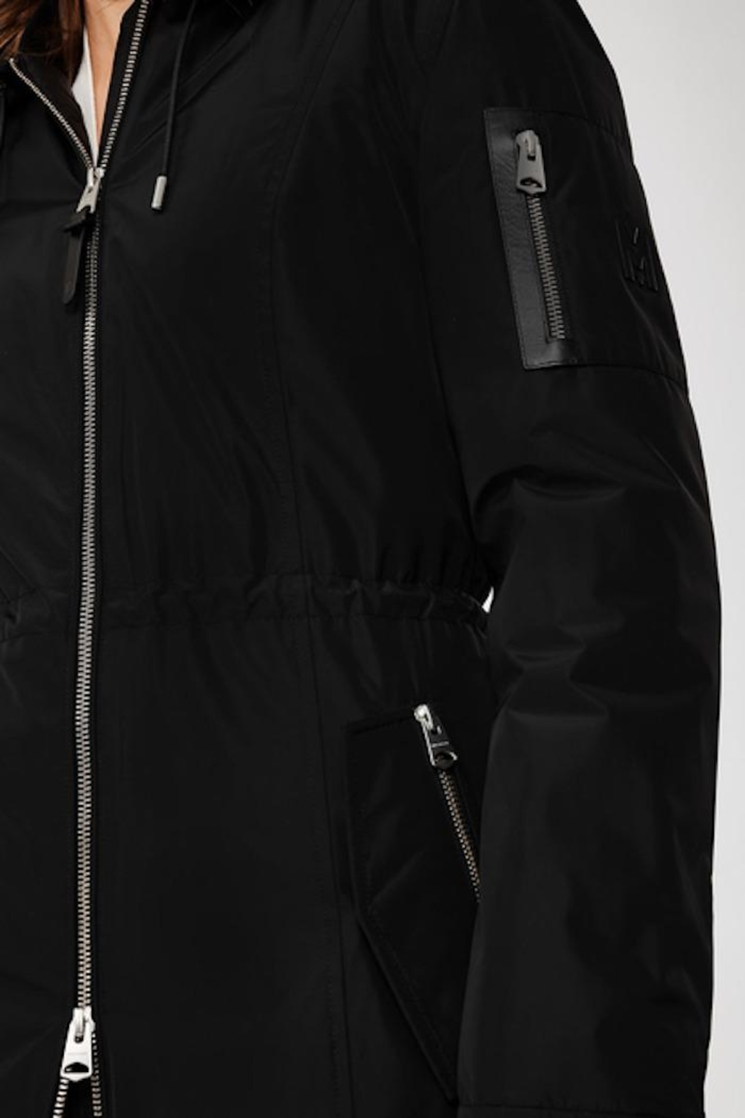Mackage Casey Down Lightweight Rain Jacket - Side Cropped Image