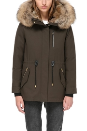 Mackage Chara Army Parka - Front full body