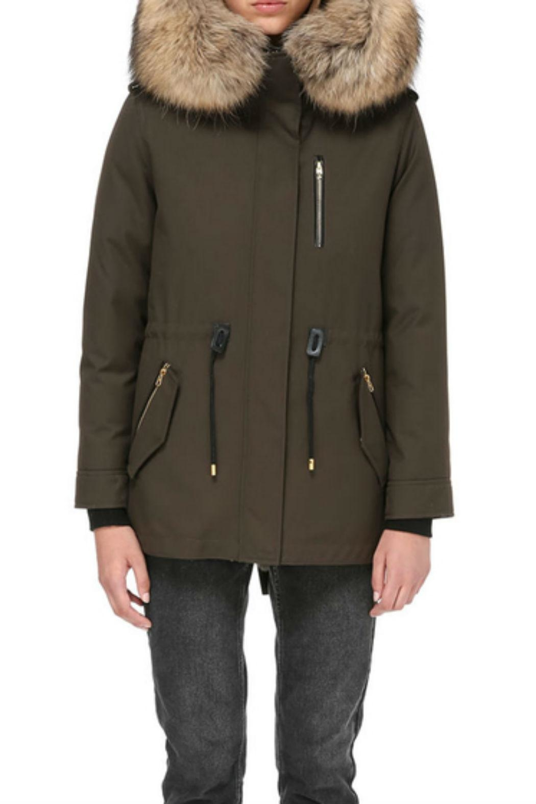 Mackage Chara Twill Parka - Side Cropped Image