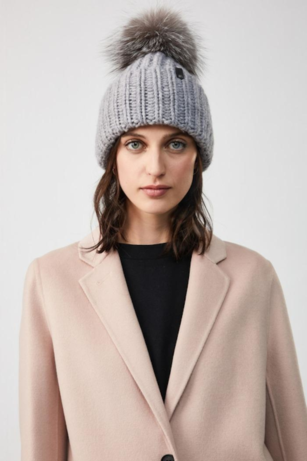 Mackage Doris-R Classic Knit Hat - Side Cropped Image