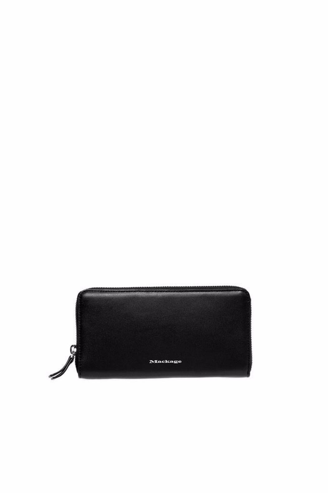 Mackage Duke Leather Wallet - Front Cropped Image