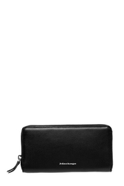 Mackage Duke Leather Zip Wallet - Front cropped