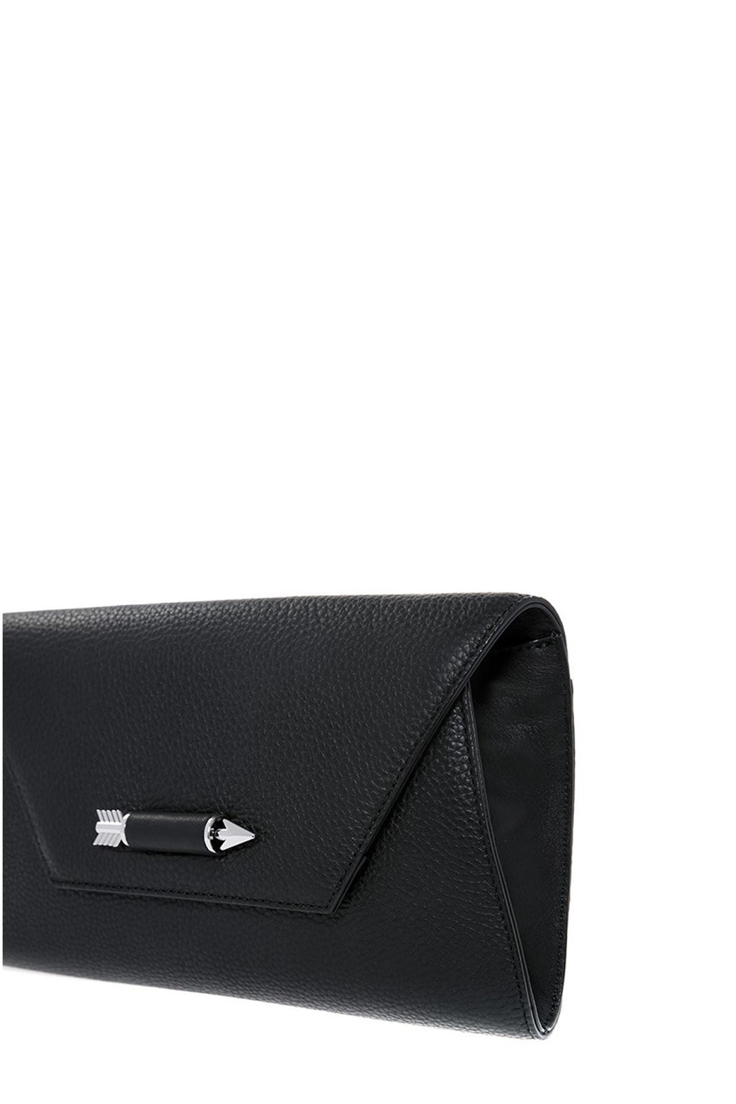 Mackage Flex Leather Clutch - Side Cropped Image
