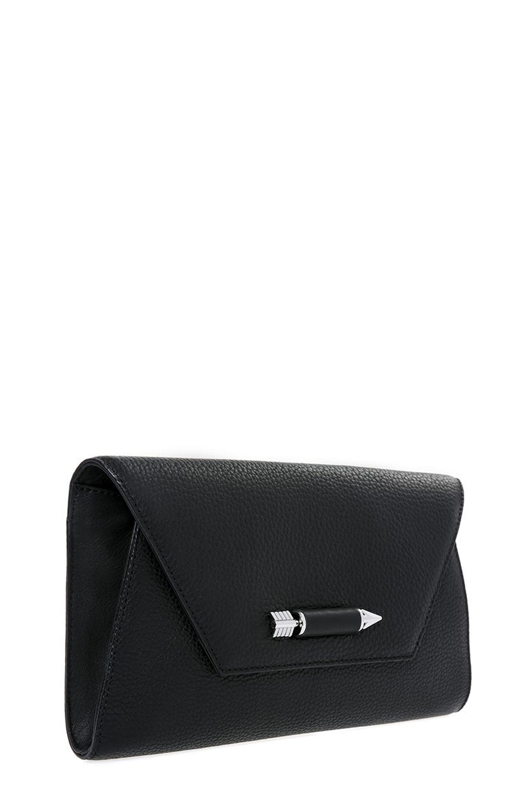 Mackage Flex Leather Clutch - Front Full Image