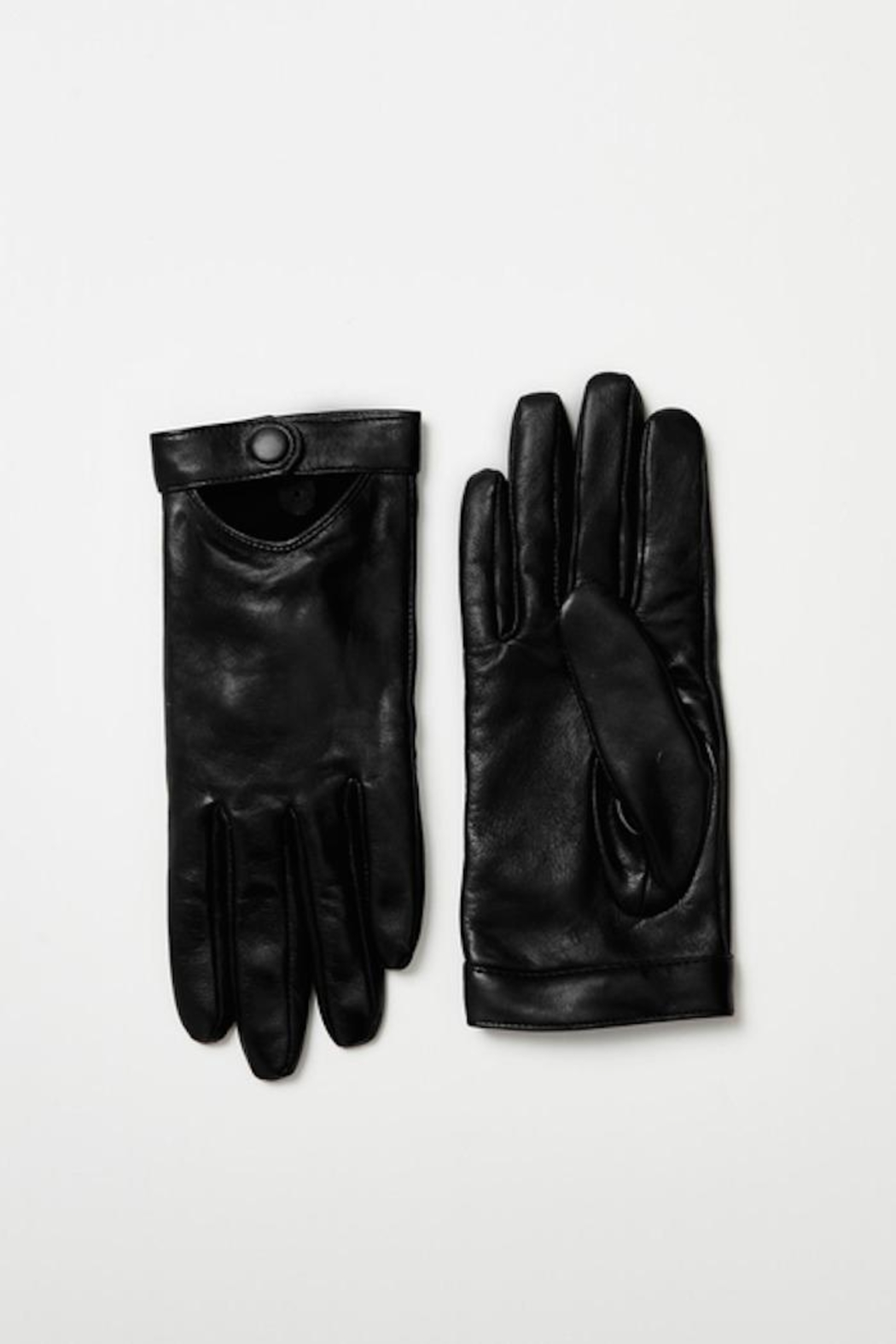 Mackage Gabia-R Leather Glove - Front Cropped Image