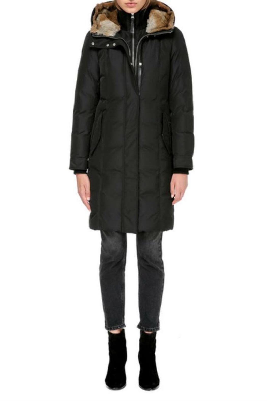 Mackage Harlin Down Coat - Back Cropped Image