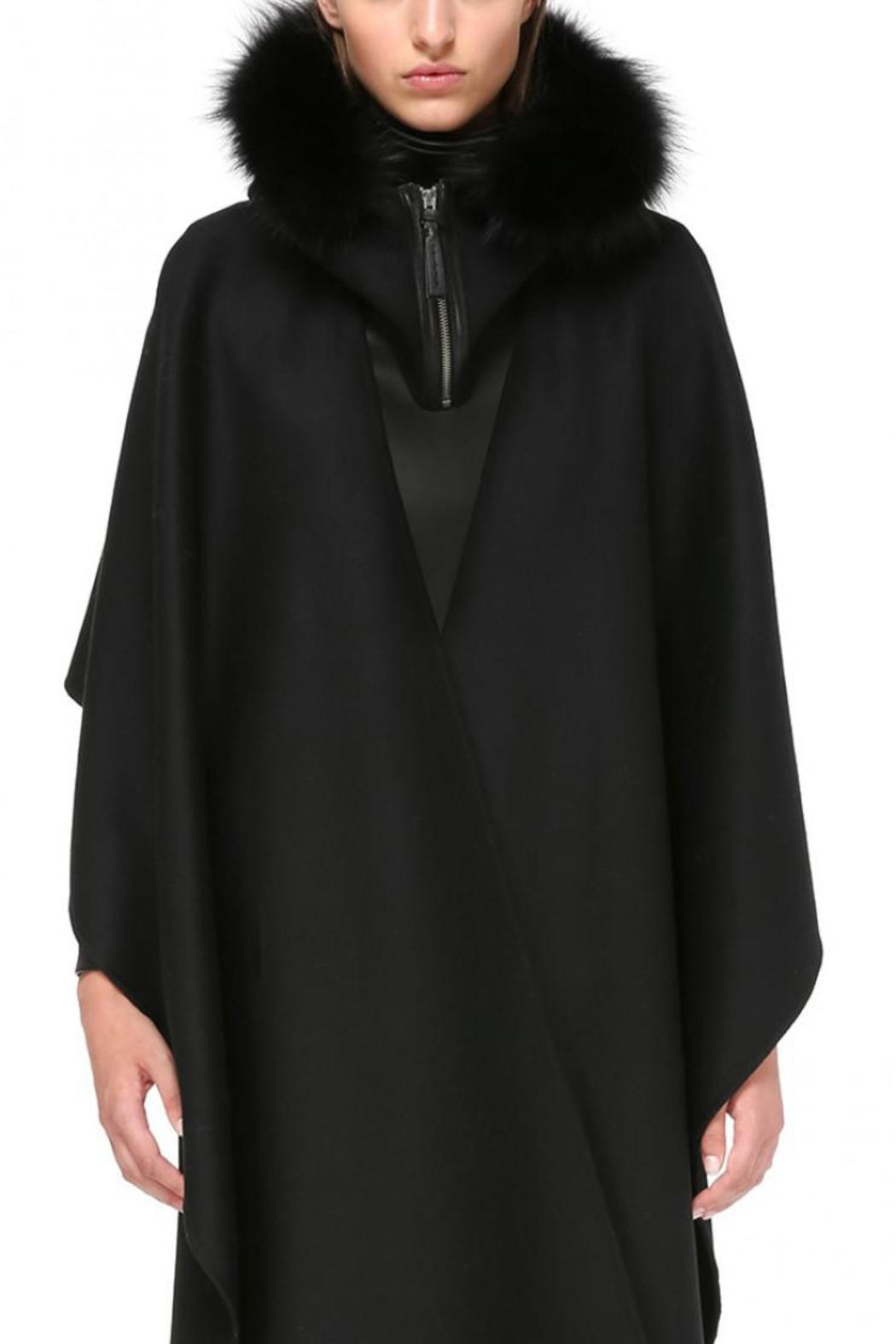 Mackage Helina Hooded Scarf - Front Cropped Image