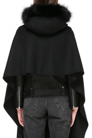 Mackage Helina Hooded Scarf - Side cropped