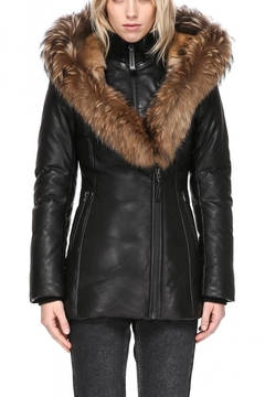 Mackage Ingrid Leather Jacket - Product List Image
