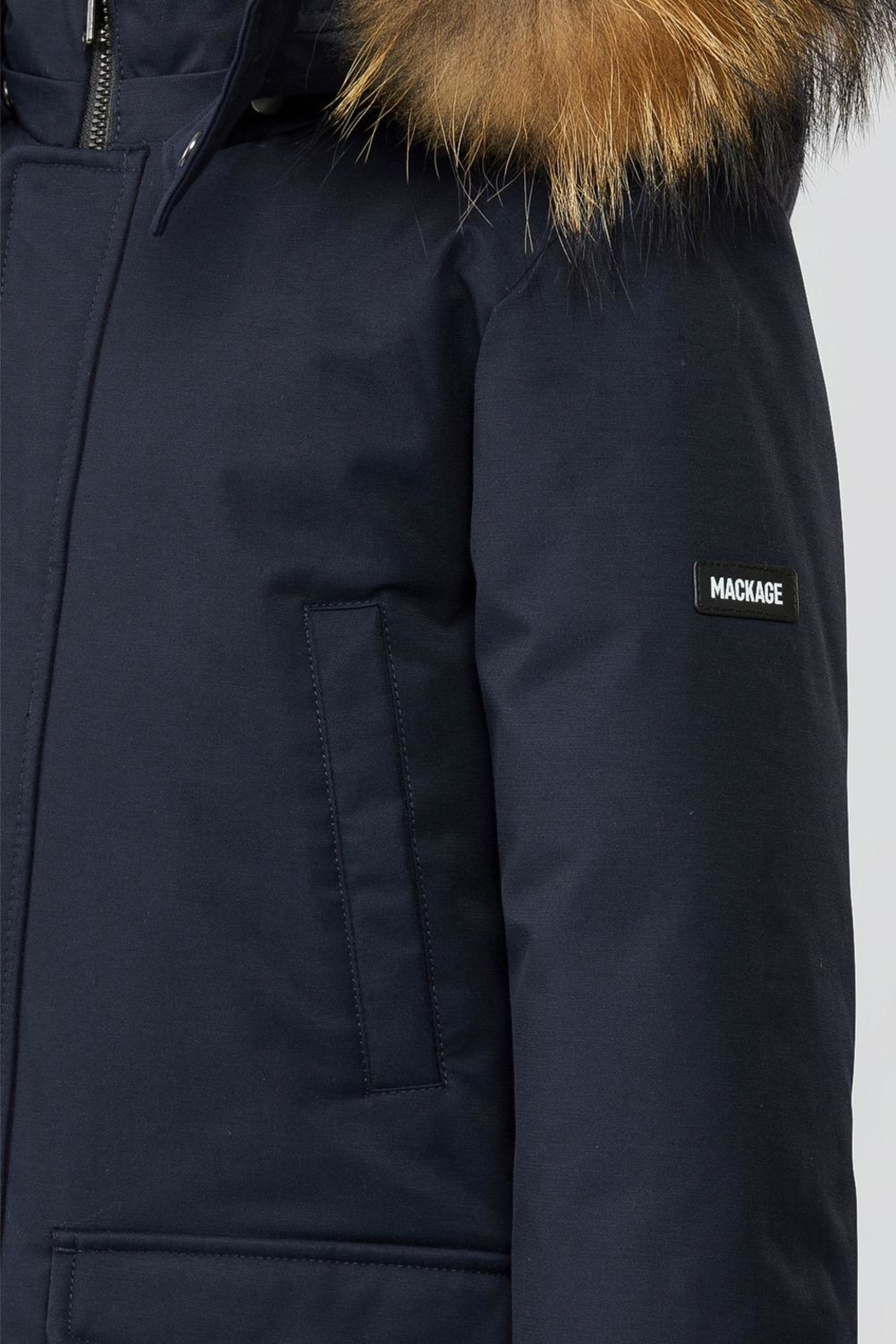 Mackage Jo-Tr Down Parka - Back Cropped Image
