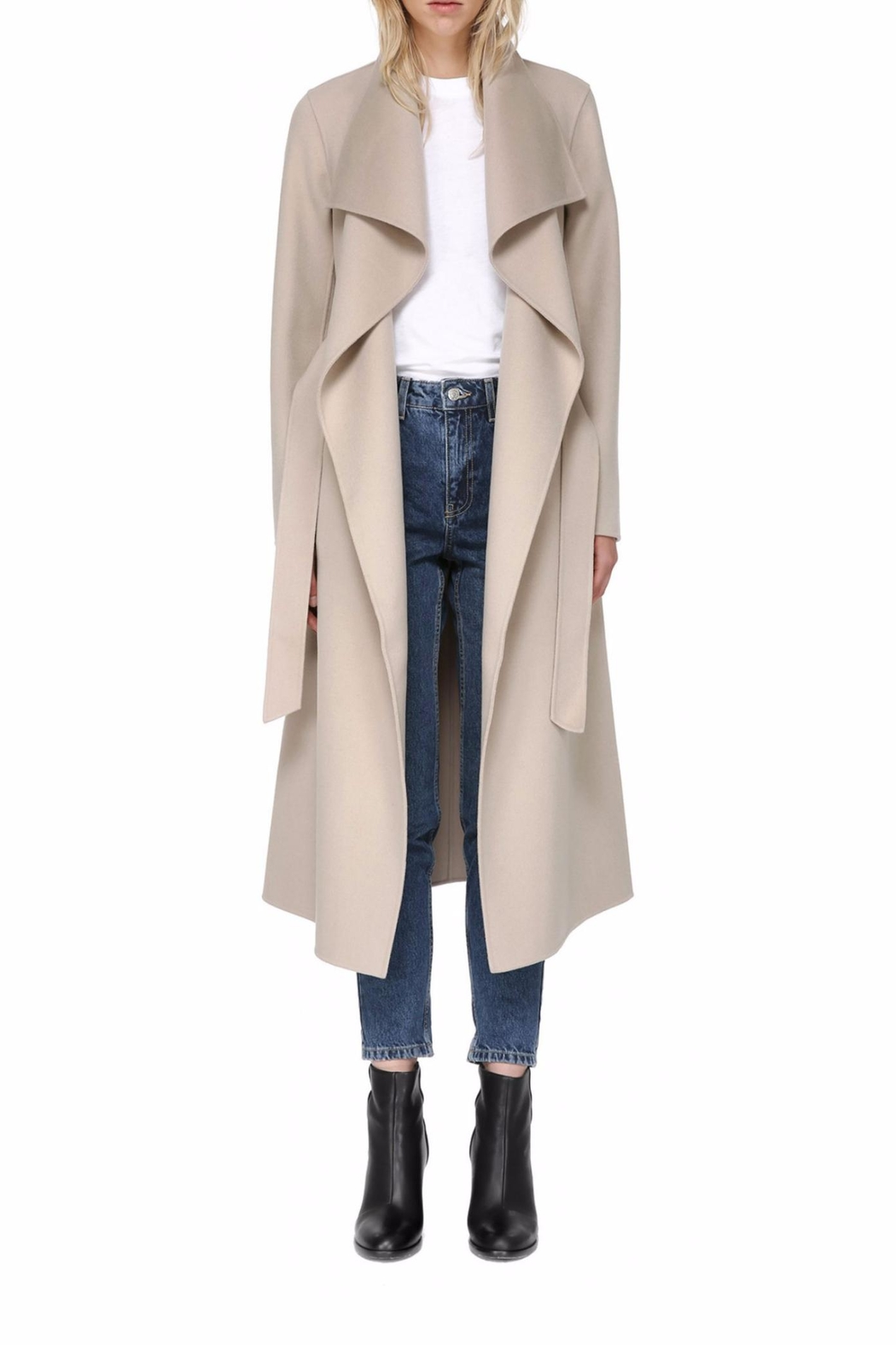 Mackage Mai Wool Coat From Montreal By Boutique Tag