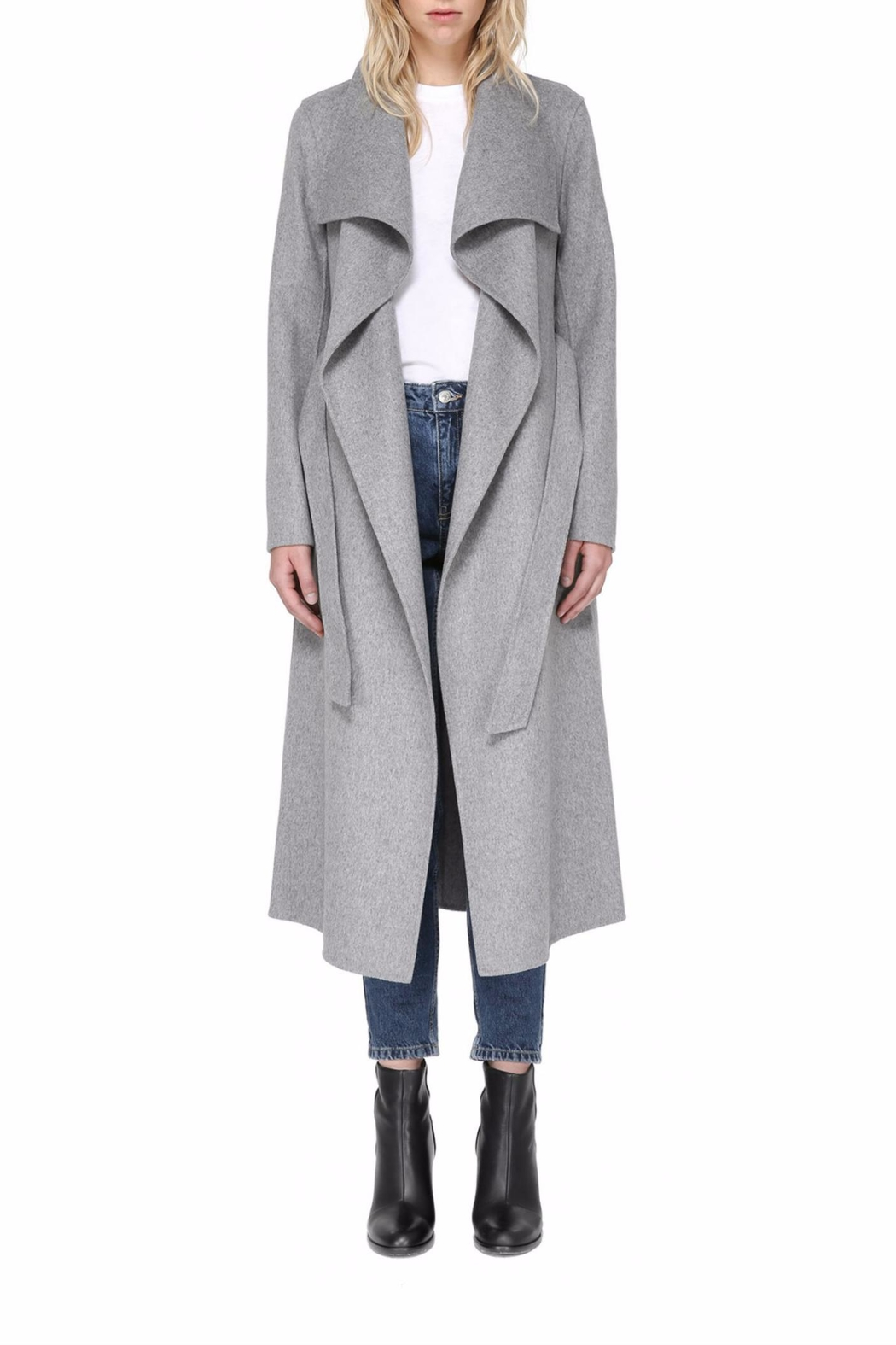 Mackage Mai Wool Coat - Front Cropped Image
