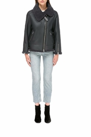 Mackage Minna Shearling Coat - Front cropped