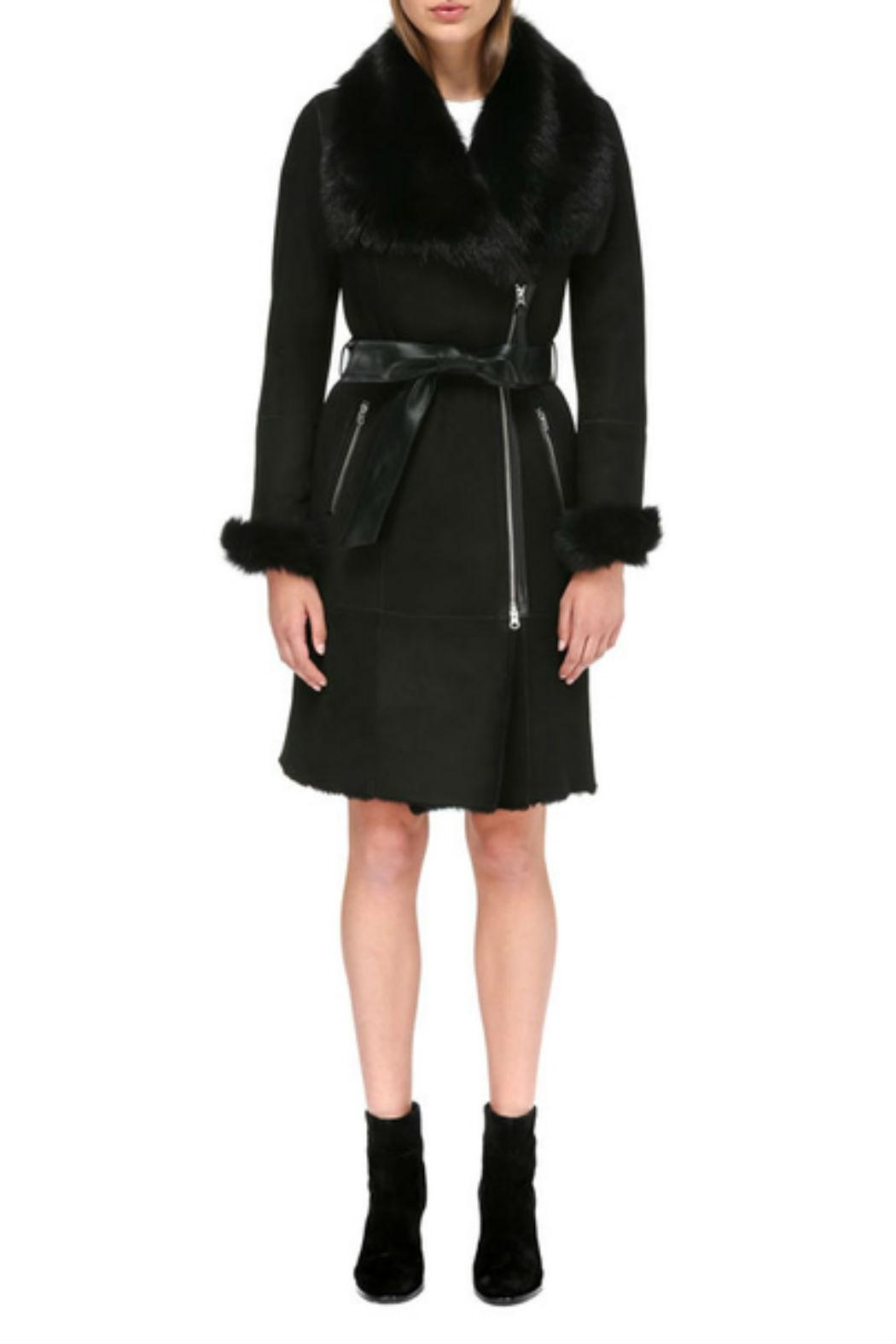 Mackage Nerea Sheepskin Coat - Main Image