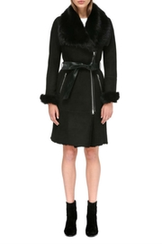 Mackage Nerea Sheepskin Coat - Front cropped