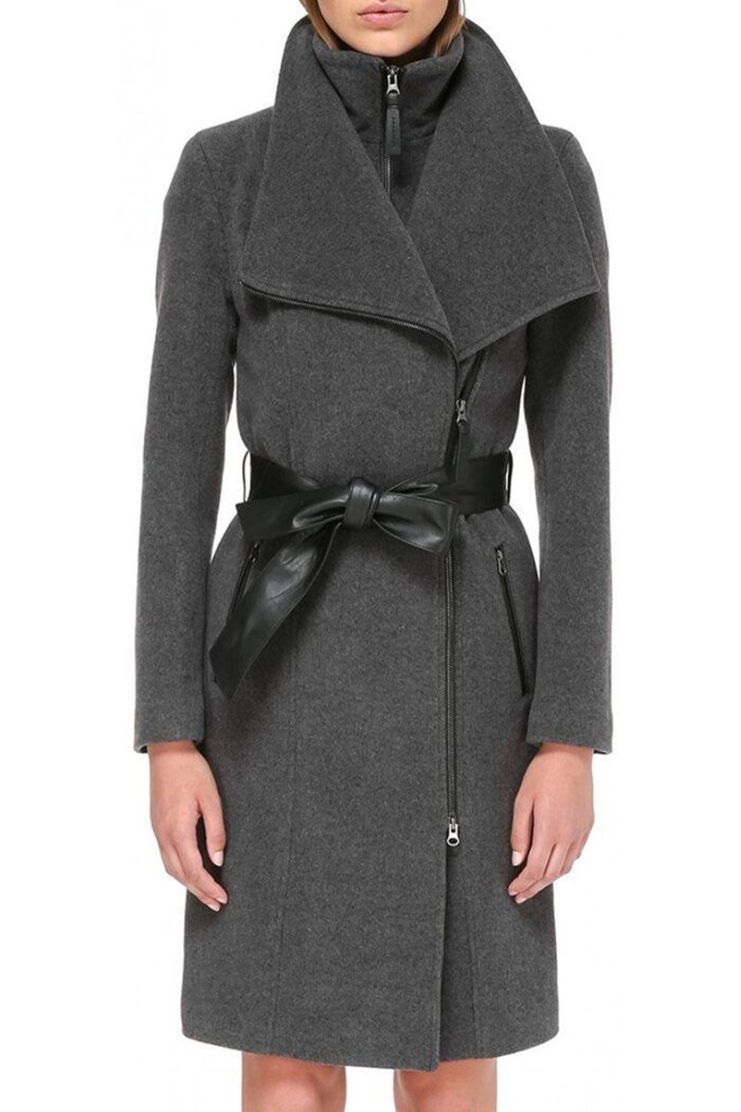 Mackage Nori Wool Coat - Front Cropped Image