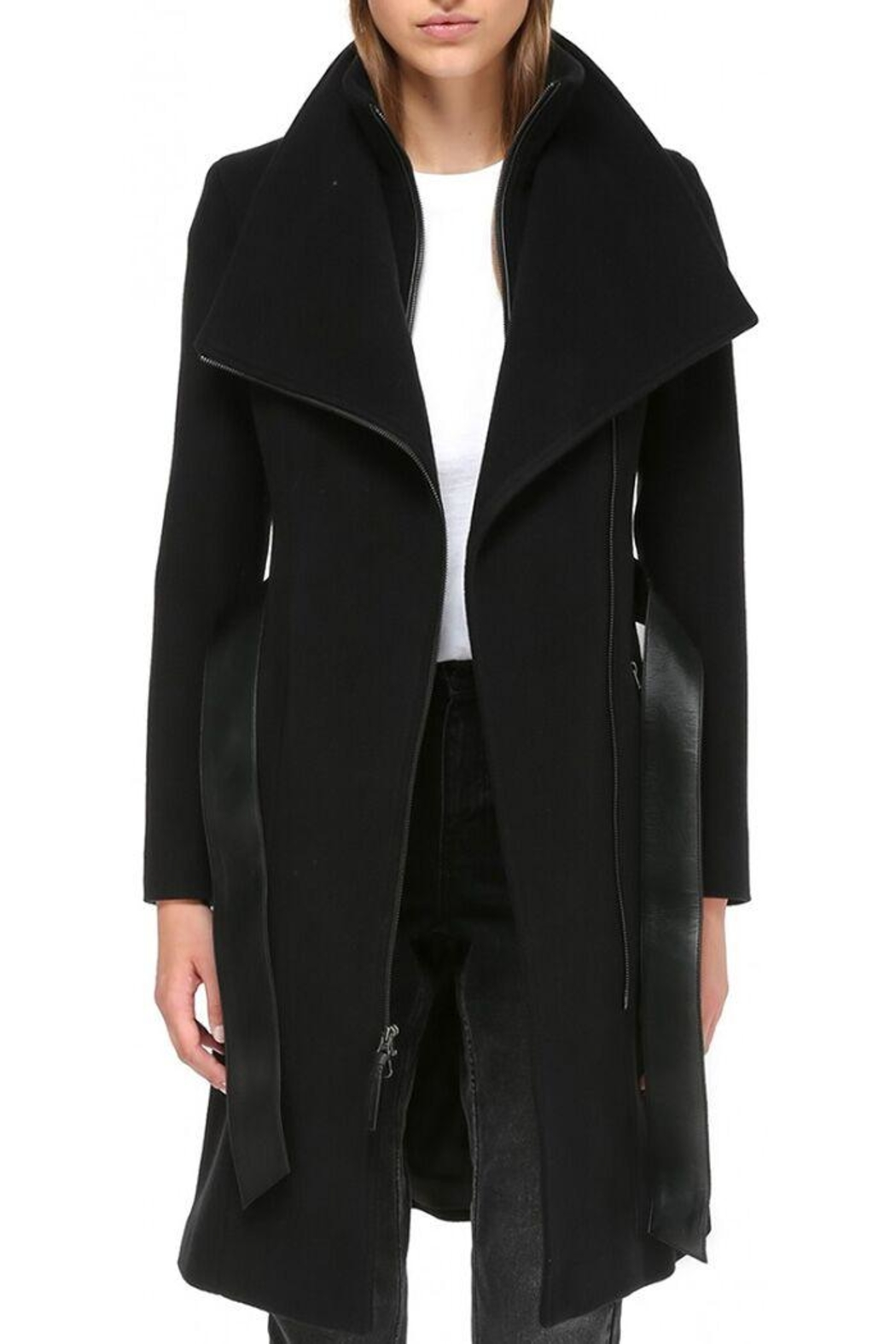 Mackage Nori Wool Coat - Side Cropped Image