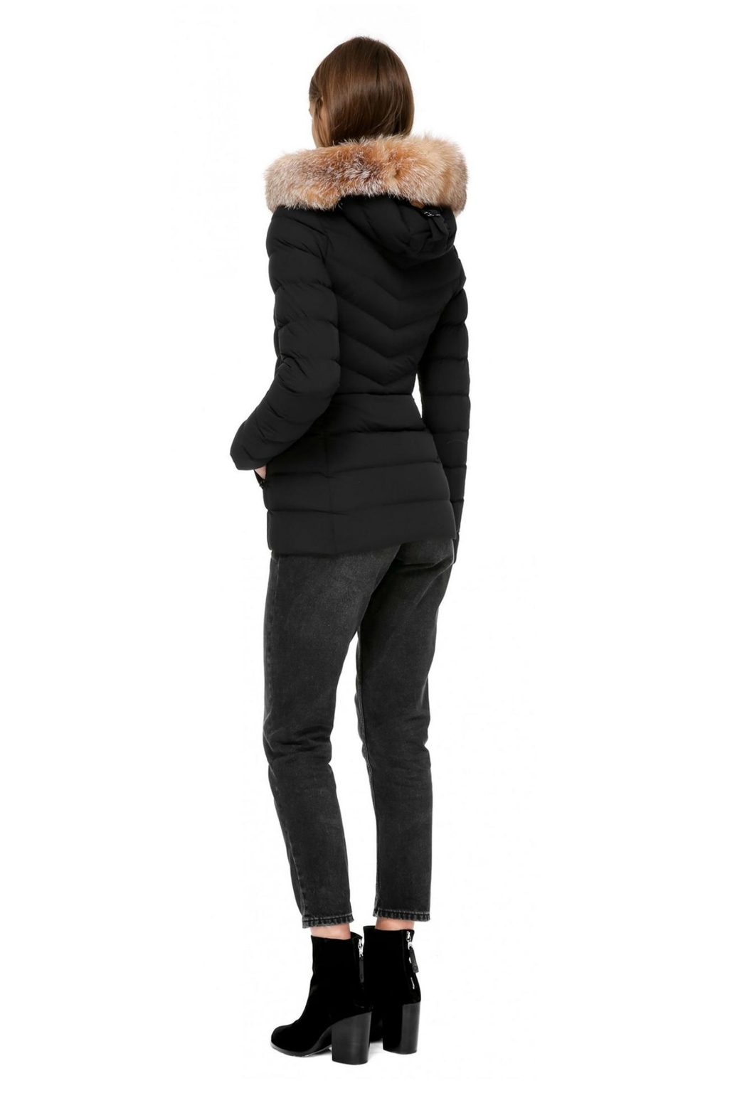 Mackage Patti-X Down Coat - Back Cropped Image