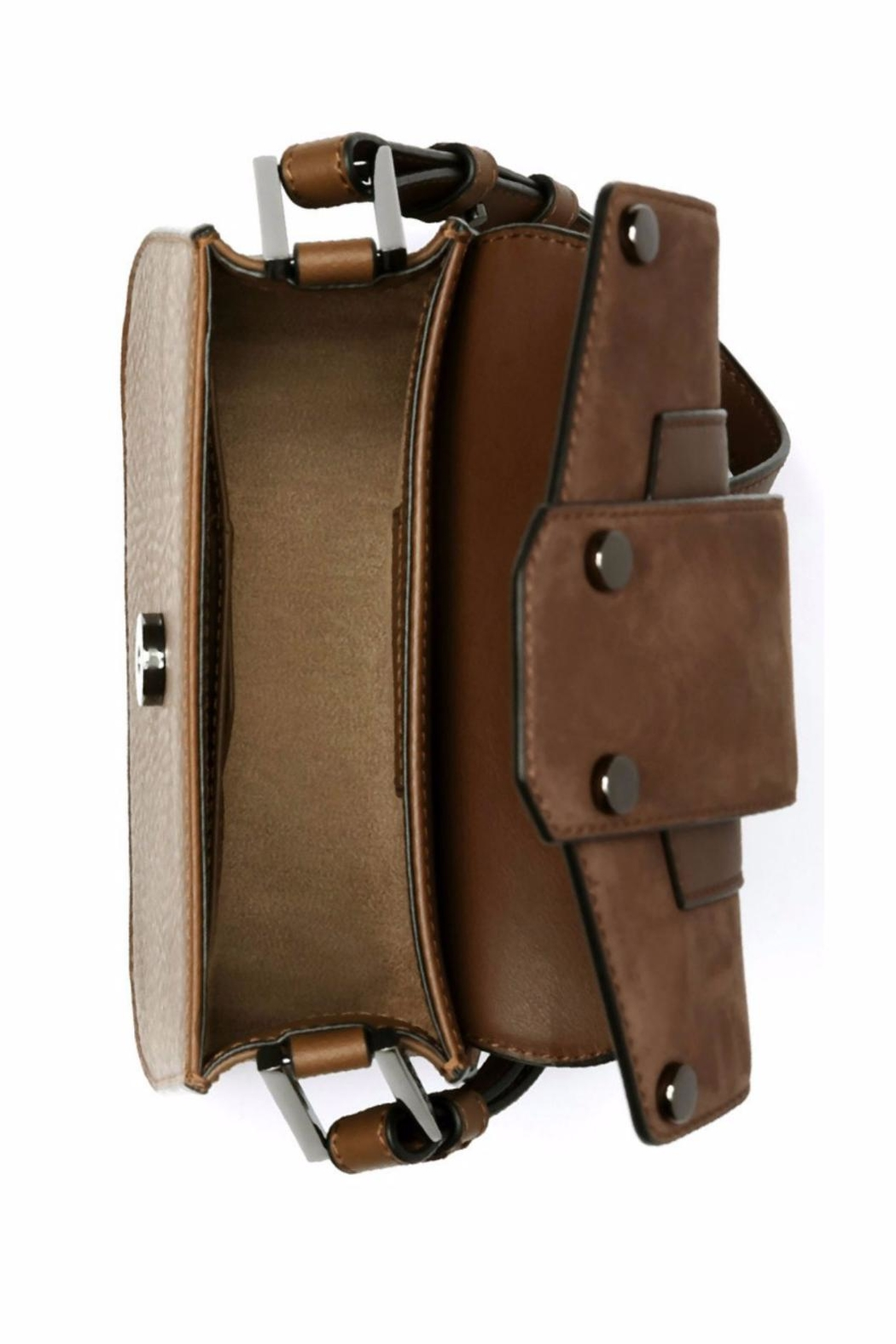 Mackage Polly Leather Crossbody - Back Cropped Image