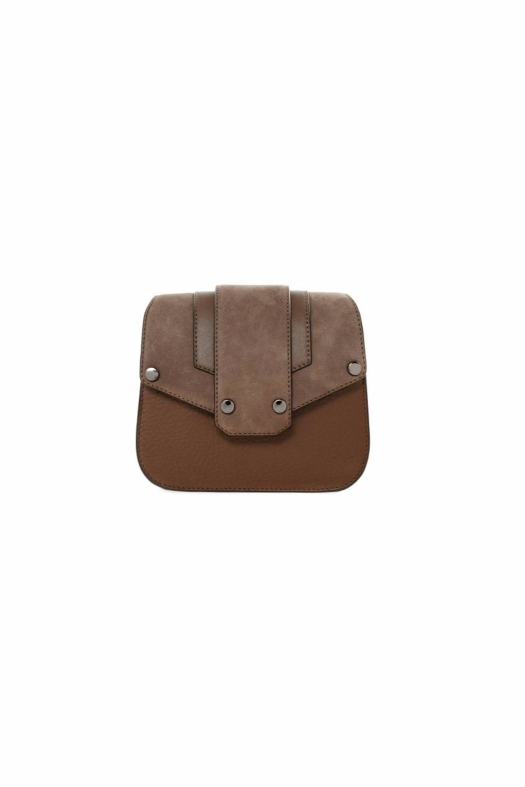Mackage Polly Leather Crossbody - Front Cropped Image
