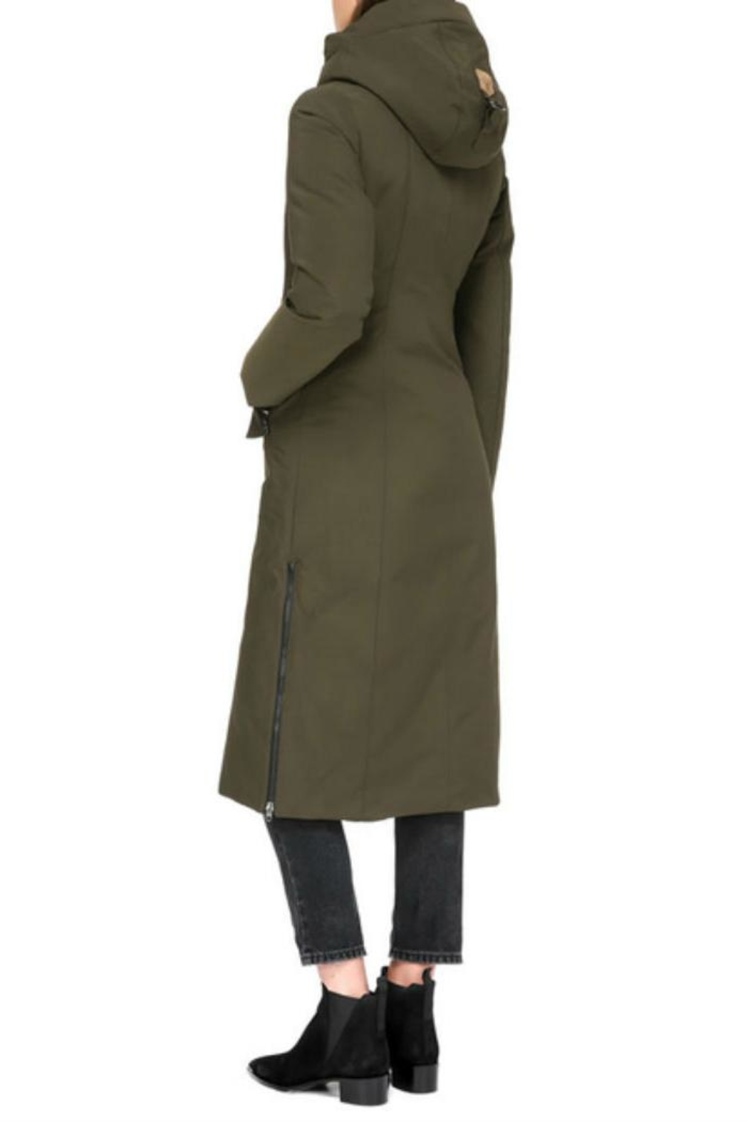 Mackage Rebeka Down Coat - Back Cropped Image